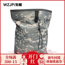 WZJP Thief large Outdoor recycling bag collection bag waist pendant bag Accessories Package multicolor Military Fan Equipment supplies