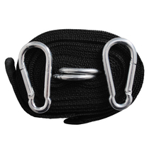 Enhanced hammock high-strength nylon tie rope upgraded version of the spring steel buckle strap good load