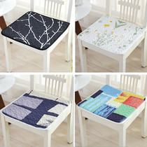 Four seasons universal thin section chair cushion non-slip office cushion student stool cushion computer chair cushion winter dining chair cushion