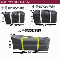 Large bag outdoor folding table and chair bag tent accessories big bag car portable large bag