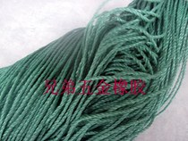 3MM green nylon rope clothesline packing bundle rope advertising rope shed rope wholesale fishing breeding rope