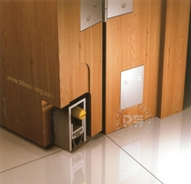 (Taiwan Wanlong genuine)indoor door door bottom layering space aluminum concealed automatic sealing strip WL99