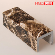 Thickened marble black sand bathroom retaining strip waterproof water bar toilet stall water stone base