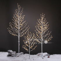 LED New Year Spring festival landscape tree lights decorative interior lights flashing lights string lights starry home New Year star lights