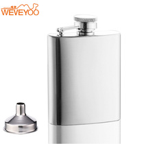 6 oz Mini men 32 small stainless steel jug metal outdoor personality Tour portable Delivery Funnel