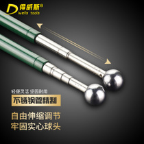 De Weisi retractable hollowing hammer hollowing hammer test hammer sound drum hammer inspection Rod inspection tool hammer detection hammer