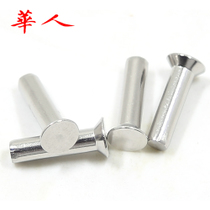 304 stainless steel GB869 countersunk head solid Rivet flat cone Rivet solid Rivet M5 (10)