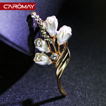 Kalome Jewelry Korean small suit brooch badge female Korean fashion temperament pin brooch Korean edition accessories