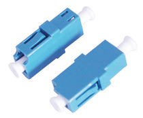 Simplex LC flange Fiber Optic Connector fiber optic adapter single LC carrier grade SC type