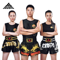 Nine Dragon Muay Thai shorts Sanda boxing clothing UFC MMA Fighting boxing clothes shorts