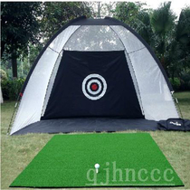 Indoor Golf Practice Net Set Swing practice device portable strike cage home golf strike Pad Net
