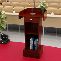 Economical podium table simple modern multi-functional speech conference room small single counter reception barber shop