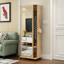 European-style with mirror shoe cabinet dormitory bedroom cabinet multi-functional european style Nordic wardrobe makeup rental.