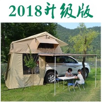 Increase the car side of the car side of the car tent 3-7 people outdoor driving tour camping car tent roof tent