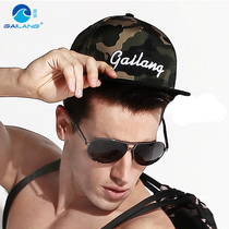 Gailang hip-hop baseball cap summer vacation Korean tide sun hat hip-hop outdoor sports Flat Hat men and women hat