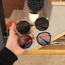 Fashion student scholar frog mirror polarized mirror sunglasses female models sunglasses driving driver Street driver mirror