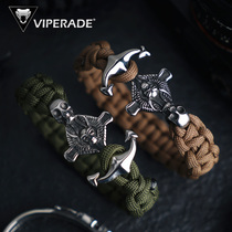 VIPERADE Viper retro anchor survival bracelet outdoor hand rope male survival bracelet umbrella rope weaving