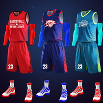 Jersey basketball Suit Suit mens game sports basketball training uniforms custom jersey Vest Buy printing new