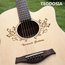 Teodosia veneer folk acoustic guitar 41 inch piano 40 inch single Beginner student Female Male electric box