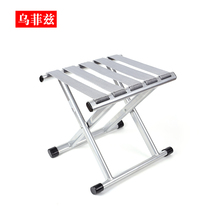 Folding chair folding stool pony tie folding portable outdoor fishing chair small bench Home small stool