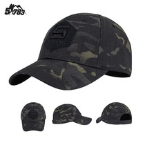 51783 new military fans dark camouflage tactical baseball cap Special Forces hat male training cap Bennie hat