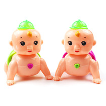 Baby learn crawling toys for young children puzzle will be called Mom and dad baby 6-12 months Electric climbing doll baby