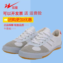 Double star volleyball shoes tendon bottom training shoes martial arts exercise sports canvas shoes men and women running shoes running shoes