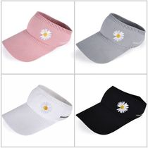Little Daisy Outdoor Sports Running Sun Hat Femme Coréen Version Sun chapeau Vide Top Tennis Hat