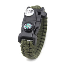 Sword attack Liu Chuang with multi-function special forces bracelet bracelet paratroopers braided rope life escape bracelet