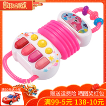 Little Polly. Children Accordion toy musical instrument Music Baby mini toy piano baby puzzle early Teach gifts