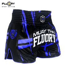 FLUORY fire base Muay Thai shorts Sanda fight fighting training competition children adult boxer pants pants 2019 New