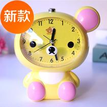 New creative simple clock desktop table clock modern living room table clock home fashion mute 4 clock student bedside