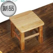 Model wood stool small stool small square stool wooden bench for z shoe stool low stool home 2 high 35 panel 303q.