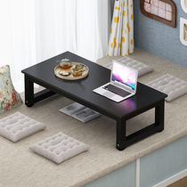 Tatami small table table table home table low table sitting japanese tea table window small coffee table dinner table.