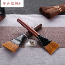 Accessories pot tea ceremony tea pen Kung Fu Tea not to lose tea brush tea tray hair tea sweep water brush brush tea