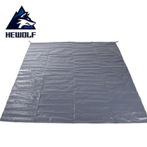 Wolf outdoor Oxford mats widening tent mats moisture pad picnic cloth ultra-light folding beach mats cloth