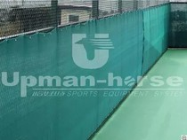 Happens to be TF-750 tennis court windproof net when basketball court windproof net dust net windproof cloth PE brushed weave