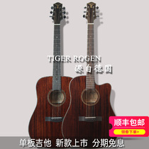 Germany Tiger Roger TG 18 veneer acoustic guitar electric box guitar beginner guitar male and female acoustic guitar