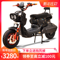 Electric motor Zuma electric car 72V battery car scooter lithium electric pedal double adult electric motorcycle
