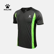 kelme calmer official authentic basketball referee sports T-shirt short-sleeved summer quick-drying breathable sweatshirt