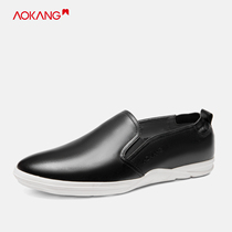 Aokang mens shoes spring and autumn fashion shoes set foot shoes daily comfortable shoes casual shoes men