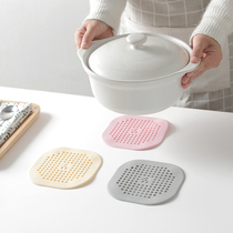 Bowl pad insulation pad table pad heat-resistant placemat pot pad plate home dish mat anti-hot plate pad coasters plastic