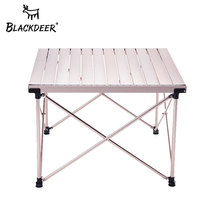 Black Deer outdoor portable folding table camping Egg Roll table home self-driving travel aluminum barbecue picnic table