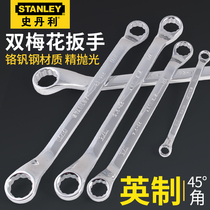 Stanley anglais double plum wrench 3 8 7 16 1 2 9 16 11 16 3 4 13 16 7 8