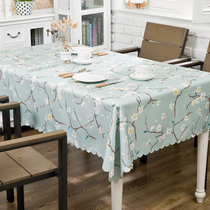 Pastoral waterproof fabric tablecloth tablecloths tablecloths table and chairs sets of tables and chairs mat coffee table cover table table flag