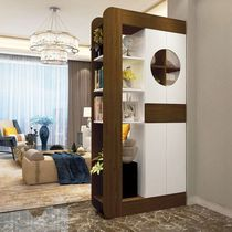 Wine cabinet modern simple double-sided screen partition cabinet living room decoration cabinet door shoe cabinet entrance door Cabinet lockers