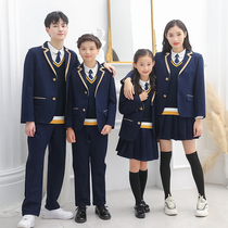 British college style pupils suit vest uniform suit spring and Autumn Winter new teacher uniform kindergarten uniforms