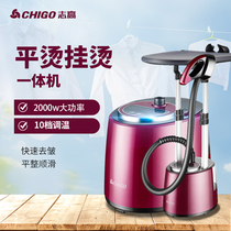 Zhigao hanging ironing machine home ironing high-power double-rod ironing steam hand-held iron hanging vertical iron ironiron