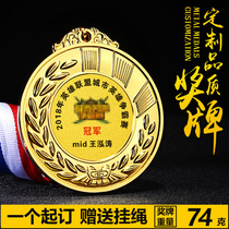 Heroes union tournament King Glory cross fire eat chicken medal Jedi survive exciting Battlefield gold medal
