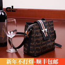 Bag female bag new 2019 fashion wild ins Bee broadband bucket bag shoulder bag messenger bag tide